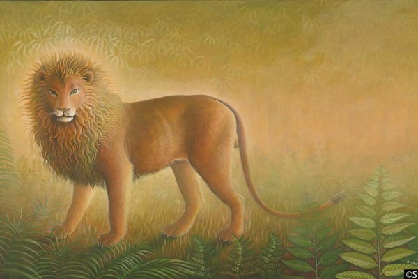 Buddha as a Lion
